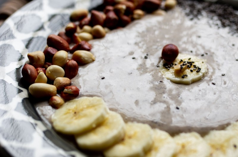 Peanut Butter Banana Smoothie Bowl