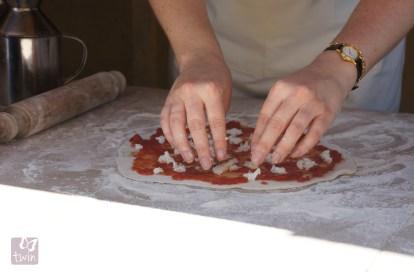 Handmade, woodfired pizza