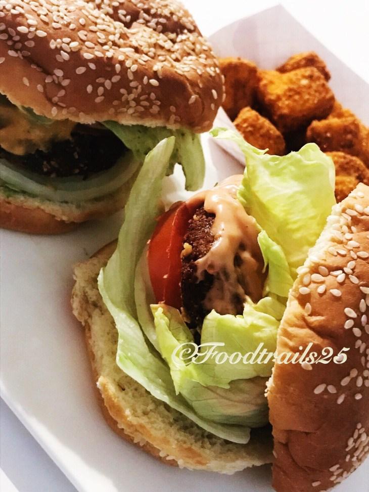 Aloo Tikki Burgers