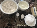Ingredients for Eggless Sponge