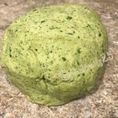 Fresh kneaded dough