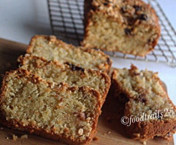 Almond Orange Nut Bread