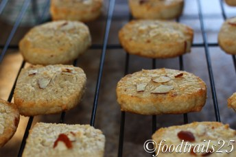 Almond and Coconut Cookies