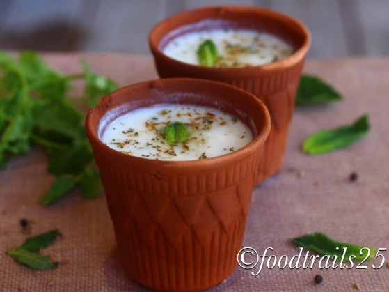 Chaas(Indian Buttermilk)