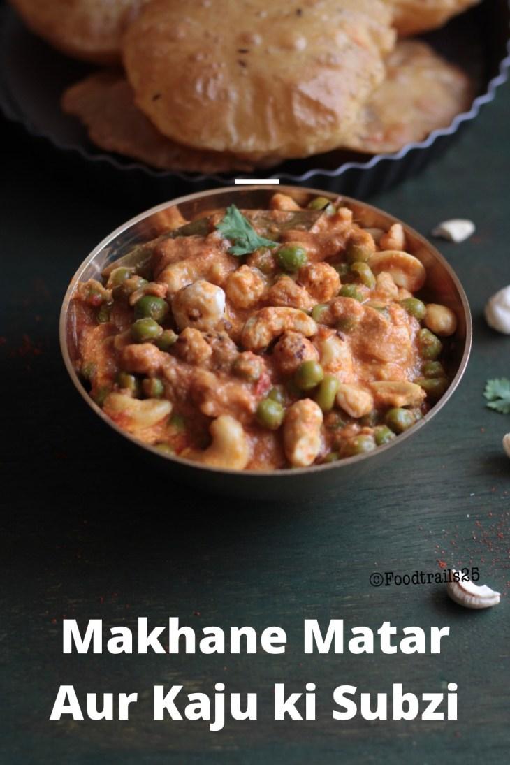Makhane ki Subzi