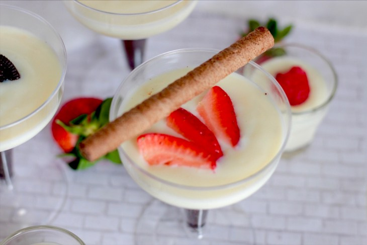 White Chocolate Pudding