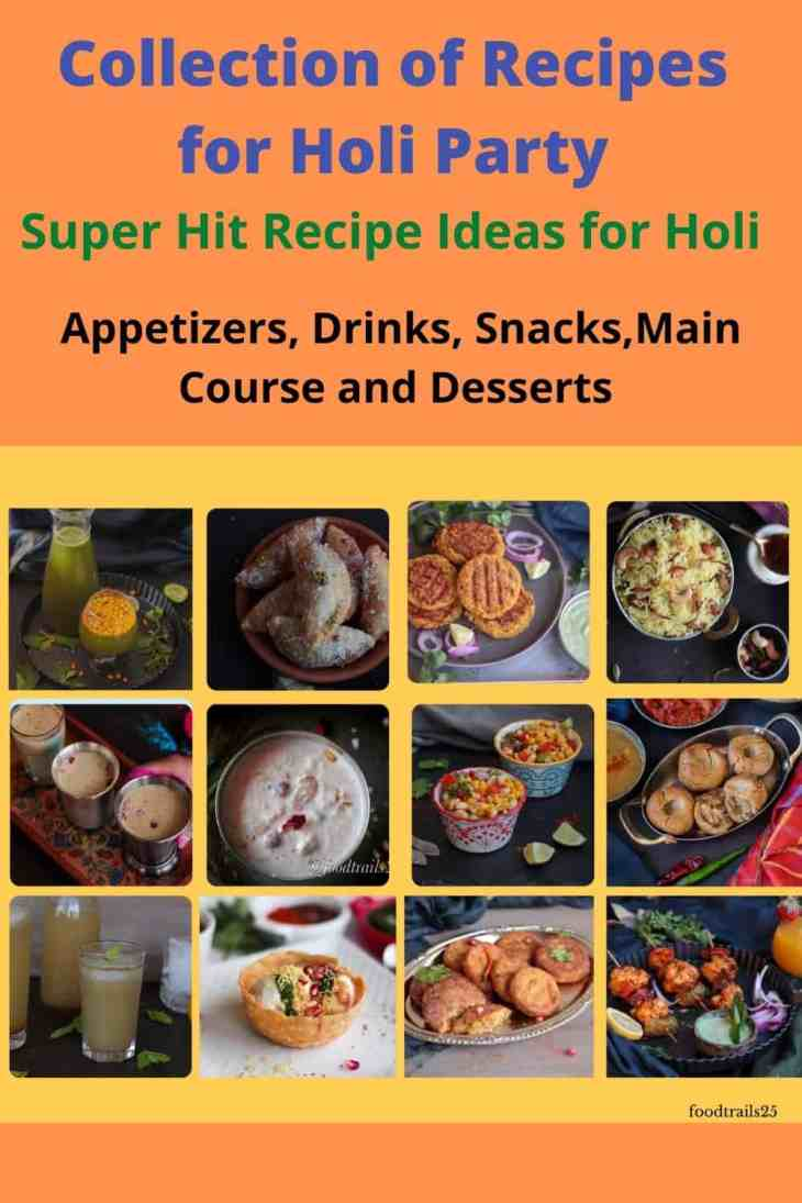 Pin for Collection of Recipes for Holi