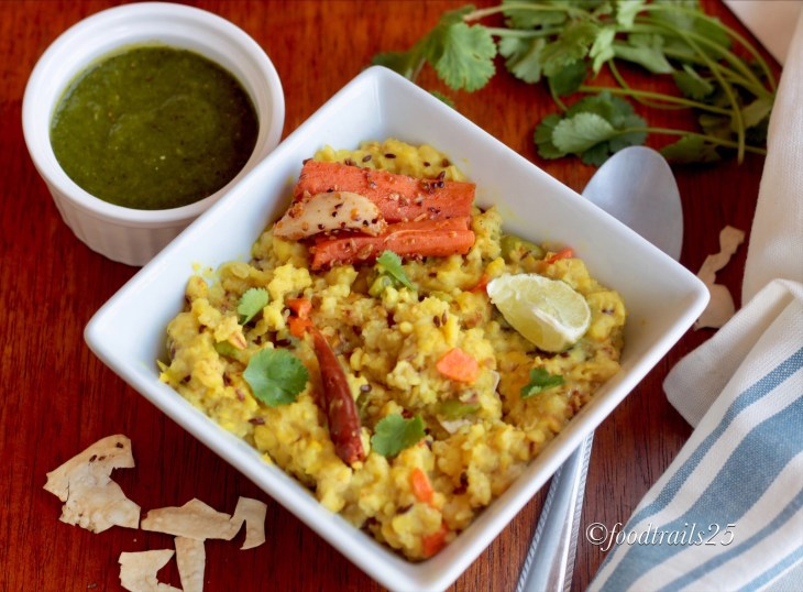 Oats Moong Dal Khichdi