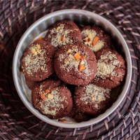 Chocolate Garam Masala Cookies