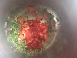Add tomatoes, toamto Sauce and salsa