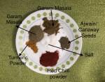 Spices for Tandoori Gobhi