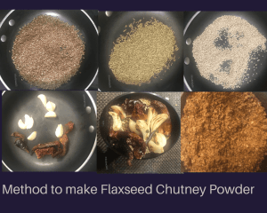 Method Flaxseed Chutney
