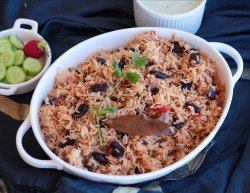 Rajma Pulao or Red Kidney Beans Pulao