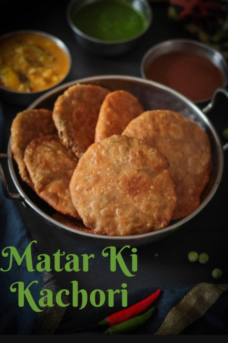 Matar(Green Peas) Kachori