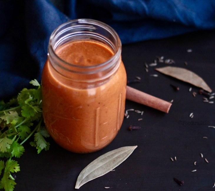 Tikka Masala Basic Sauce