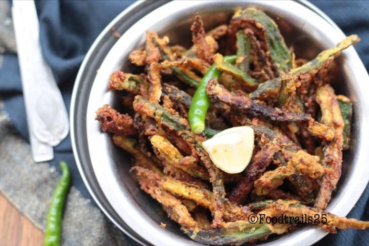 Kurkuri Bhindi/Crispy Okra