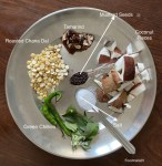 Ingredients for White Coconut Chutney