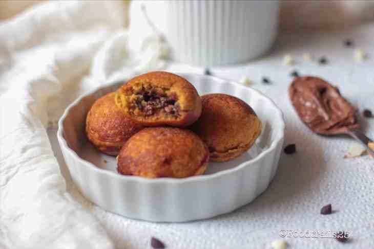 Donut Balls in Aebleskiver Pan