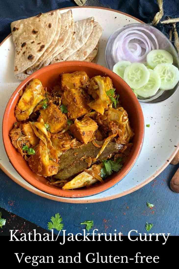 Vegan Jackfruit Curry/ Kathal Ki Subzi