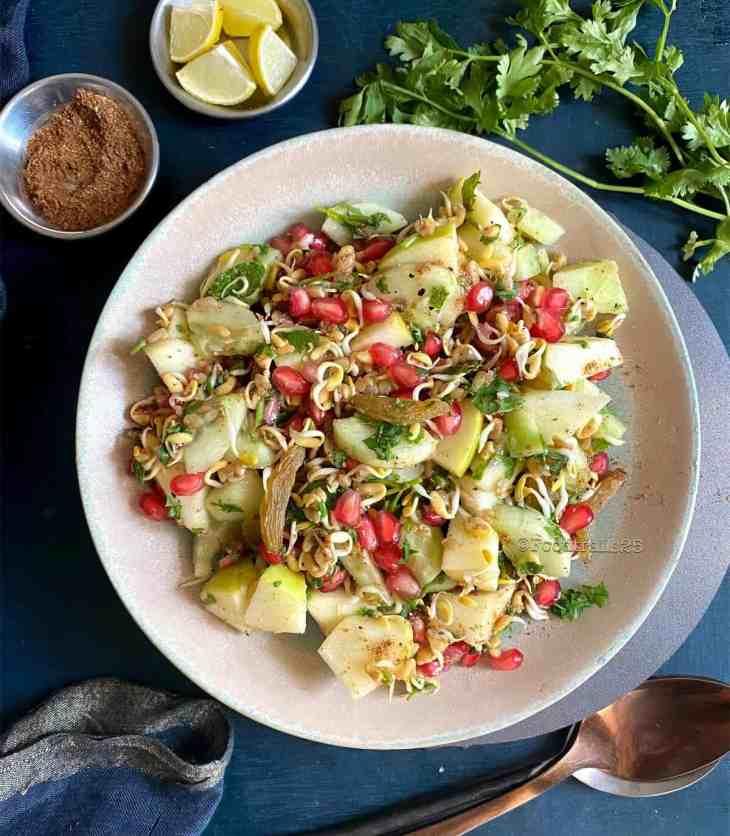 Methi/Fenugreek Sprouts Salad
