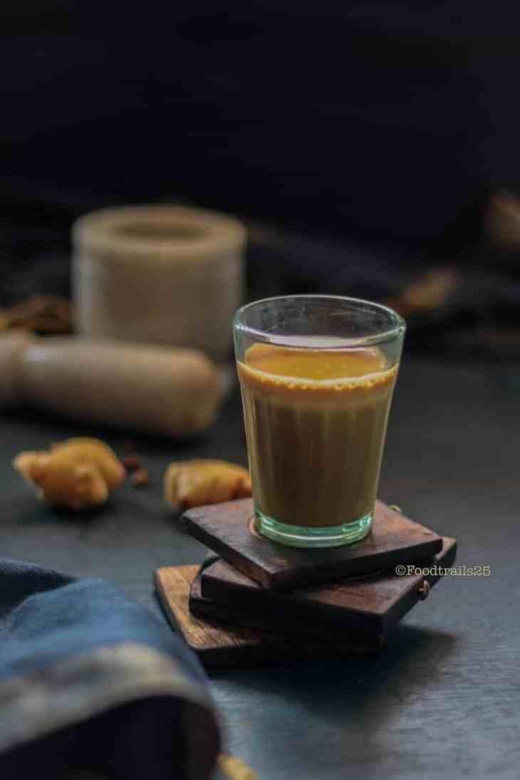 Adrakwali Chai/Indian Ginger Tea