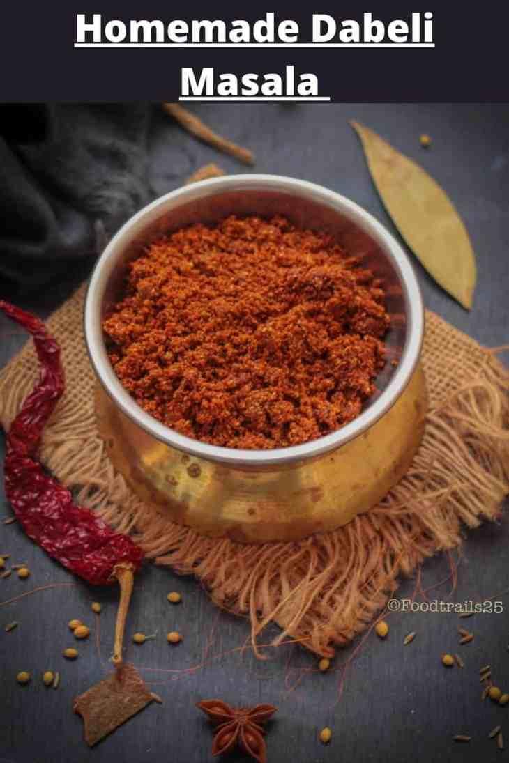 Homemade Dabeli Masala- Pin