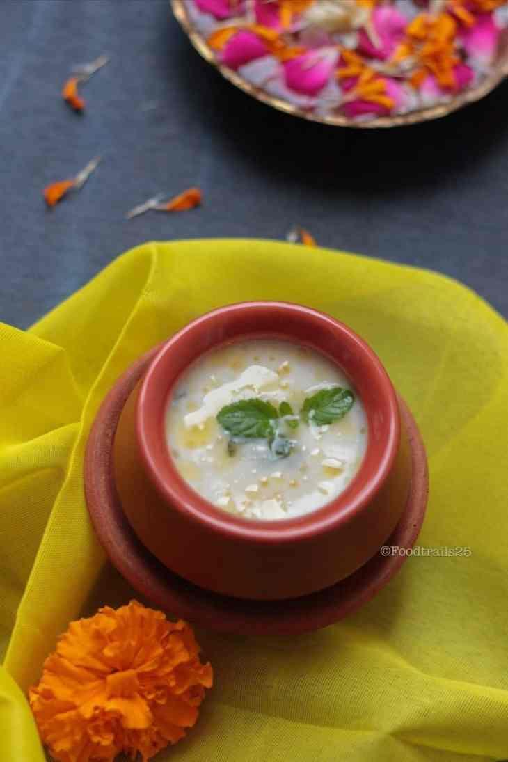 Panchamrit recipe