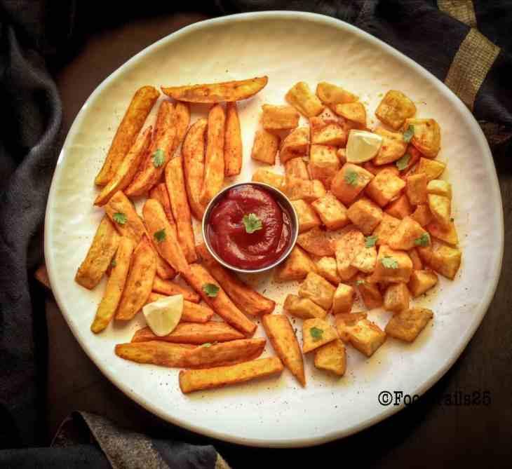 Roasted Sweet Potato -Air Fryer Recipe