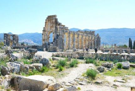Volubilis in Marokko: De best bewaarde Romeinse Ruïnes van Noord Afrika