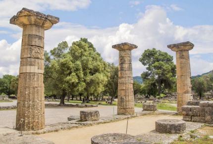 Olympia, daar waar de Olympische spelen begonnen