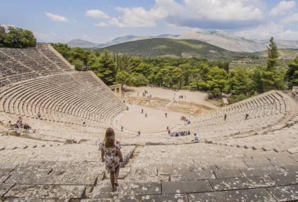 Road trip Peloponnesos, een rondreis door de Griekse Oudheid