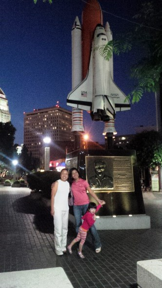 LA at night, with an old friend from university
