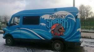 Фудтрак Hungry Shark 1.