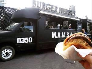 Фудтрак и бургер Burger Heroes.