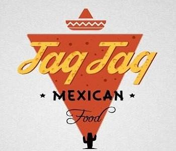 Логотип фудтрака Taq Taq.