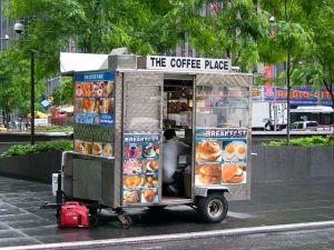 Уличная еда в США.