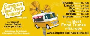 Европейский фестиваль фудтраков.