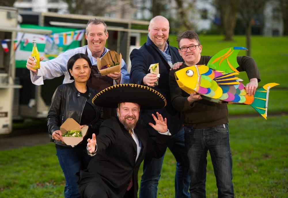 Фестиваль фудтраков в Ирландии!
