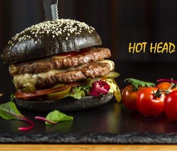 Hot Head бургер.