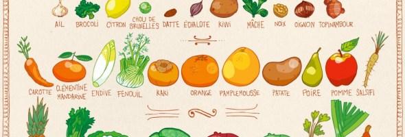 Légumes de saison Janvier