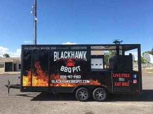 Pocatello Food Trucks Blackhawk BBQ Pit Food Truck
