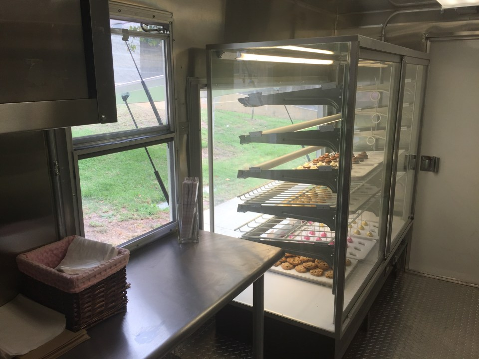 Bakery Truck Interior