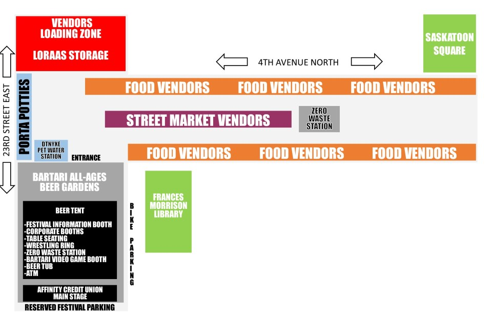 FOODTRUCK WARS SITE MAP 2020