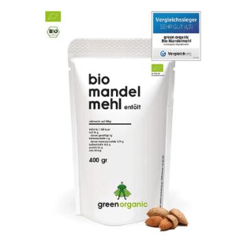 GreenOrganic Bio Premium Mandelmehl