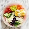 Salat Bowl mit Romana Salat
