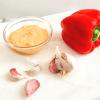 Feta-Frischkäse-Creme mit Paprika