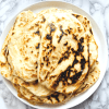 Knoblauch Naan Brot