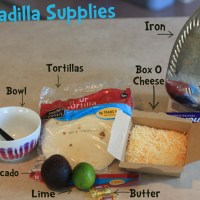 Dorm Cooking: A Quesadilla With An Iron