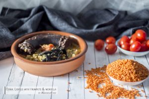 coral-lentils-morcilla-trumpets-gregousfood3