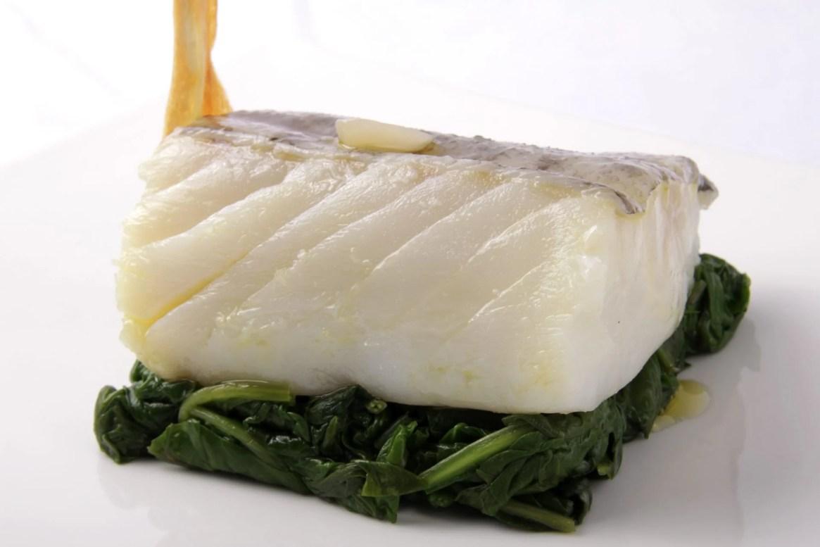 Bacalao confitado con ajo - foodVAC